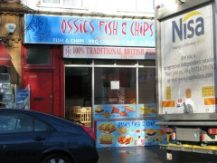 Ossies Fish & Chips, exterior picture