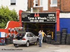 A A Tyres & Wheels image
