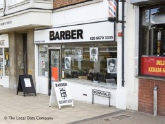 Barber, exterior picture