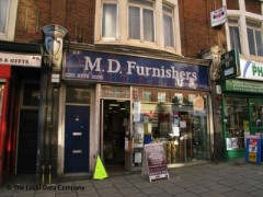M D Furnishers, exterior picture