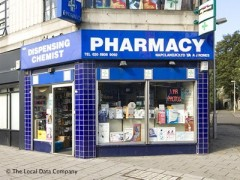 A J Rones Pharmacy, exterior picture
