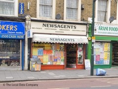 B M Patel Newsagents, exterior picture