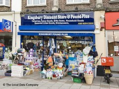 Kingsbury Discount Store & Pound Plus, exterior picture