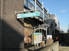 Limehouse DLR Station, exterior picture