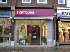 I Opticians, exterior picture