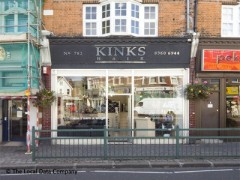 Kinks Hairdressers, exterior picture