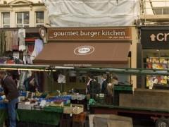 Gourmet Burger Kitchen, 160 Portobello Road, Notting Hill, London ...