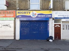 Mighty Chicken & Ribs, exterior picture