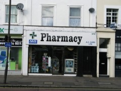 A C Curd Pharmacy, exterior picture