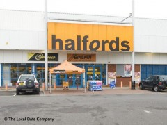 Halfords, exterior picture
