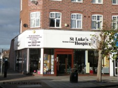 St. Lukes Hospice Charity Shop, exterior picture