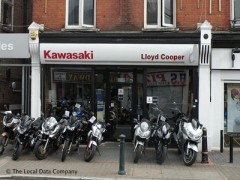 Lloyd Cooper Motorcycles, exterior picture