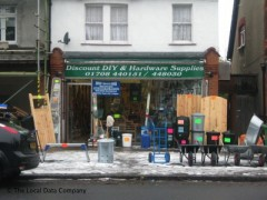 Discount DIY & Hardware Supplies, exterior picture