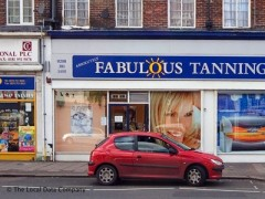 Absolutely Fabulous tanning image