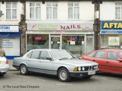 Five Star Nails 83 Coldharbour Lane Hayes Nail Salons Near Hayes Harlington Rail Station
