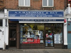 A S Hardware & DIY, exterior picture