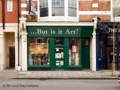 ...But Is It Art? image