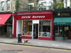 Little Heroes, exterior picture