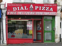 Dial A Pizza, exterior picture