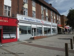 Kingsbury Library Plus, exterior picture