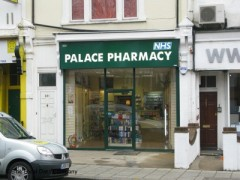 Palace Pharmacy, exterior picture