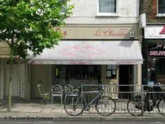 Le chandelier 161 lordship lane london cafes snack shops tea le chandelier exterior picture aloadofball Gallery