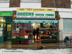 Greens Super Foods, exterior picture
