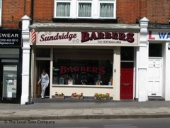 Sundridge Barbers, exterior picture