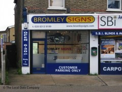Bromley Signs image