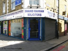 Shahid Rahman Solicitors, exterior picture