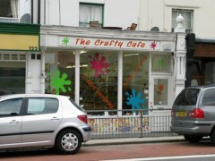 The Crafty Cafe, exterior picture
