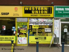 Western Union Money Transfer, exterior picture