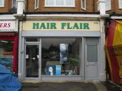Hair Flair, exterior picture