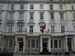 Albanian Embassy, exterior picture