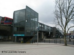 Westferry DLR Station, exterior picture