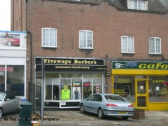 Fiveways Barbers, exterior picture