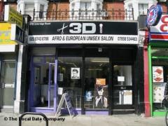 3 D Afro & European Unisex Salon image