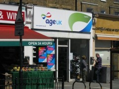 Age UK, exterior picture