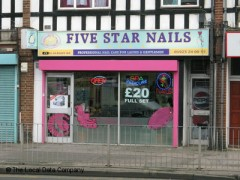 Five star nails 470 st albans road watford nail for 5 star nail salon
