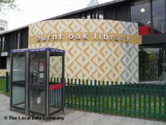 Burnt Oak Library, exterior picture