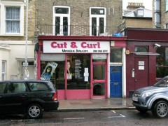 Cut & Curl, exterior picture