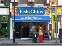 Alen 39 s fish chips 43 theobald 39 s road london fish for Fish shop near me