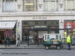 Joe & The Juice, exterior picture