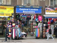 Central London Souvenirs, exterior picture