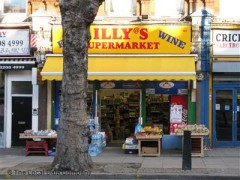 Illy\'s Supermarket, exterior picture