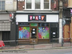 Party Superstores, exterior picture