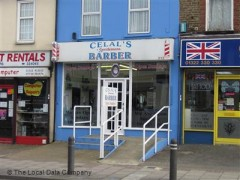 Calal\'s Hairdressers, exterior picture
