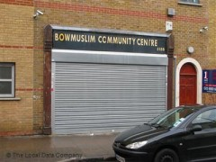 Bow Muslim Community Centre, exterior picture