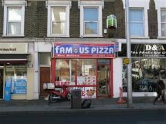 Famous Pizza 25 High Street London Take Away Food Shops