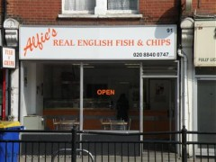 Alfie\'s Real English Fish & Chips, exterior picture